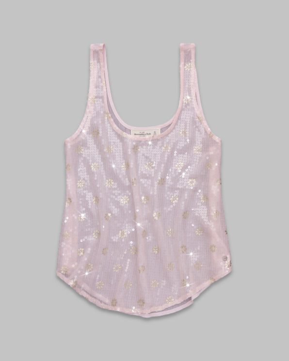 Womens Hallie Shine Top