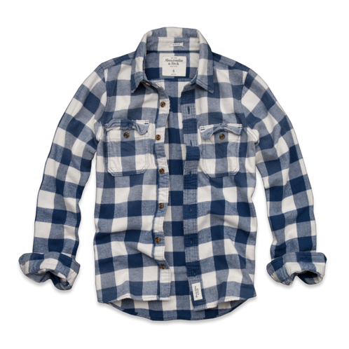 Mens Sentinel Range Flannel Shirt