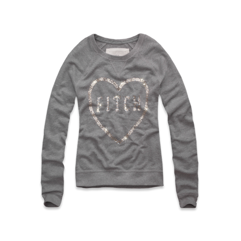 Womens Julia Shine Sweatshirt