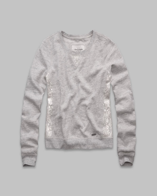 Jordan Lace Panel Sweatshirt Jordan Lace Panel Sweatshirt