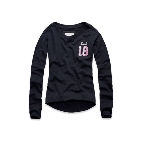 Womens Addison Shine Sweatshirt