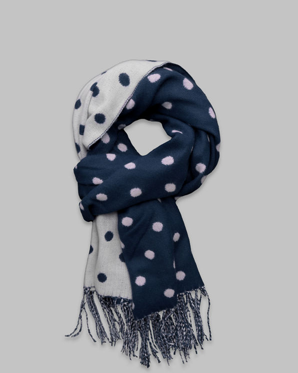 Womens Pretty Dot Scarf