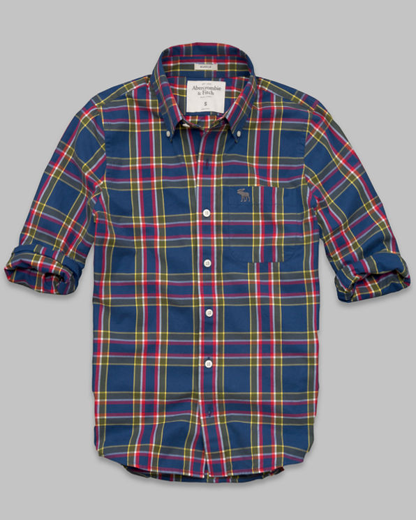 ANF Dickerson Notch Shirt