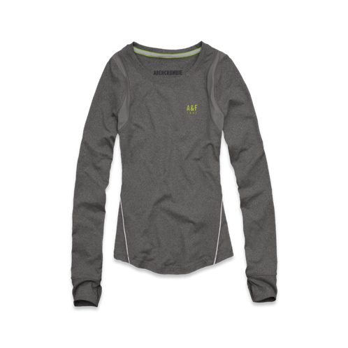 Womens A&F Active Long Sleeve Tee