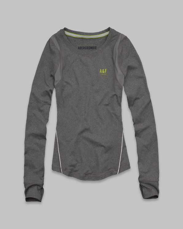 A&F Active Long Sleeve Tee A&F Active Long Sleeve Tee