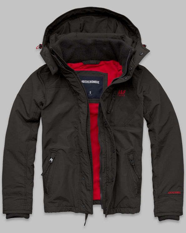 Mens A&F All-Season Weather Warrior Jacket