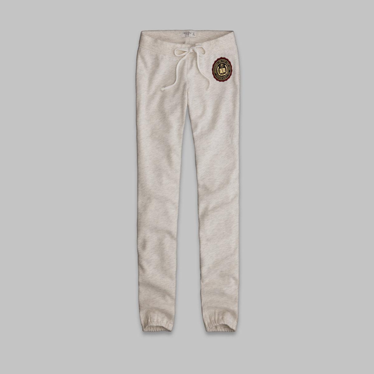 A&F Classic Banded Sweatpants