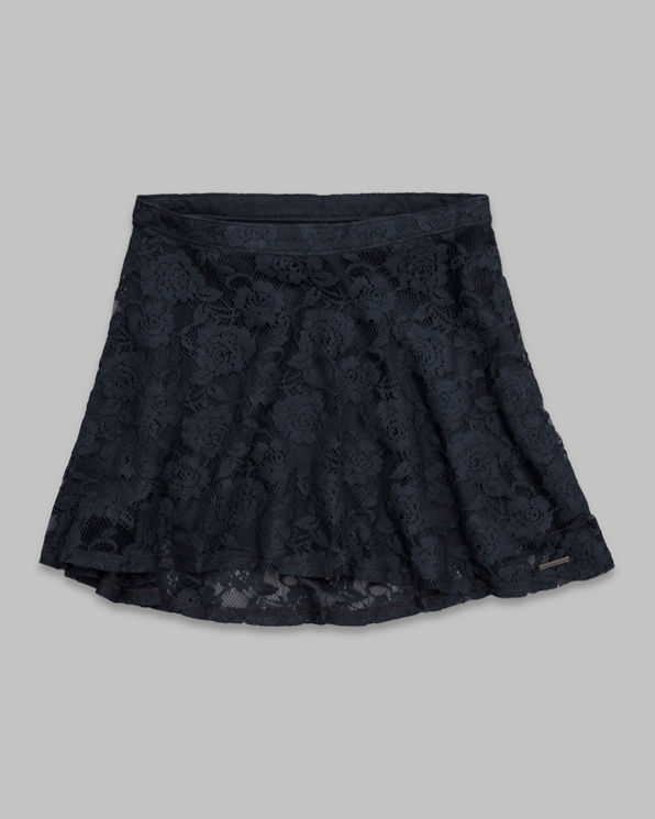 Womens Natasha Lace Skater Skirt