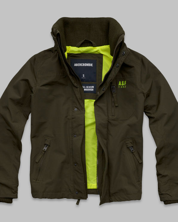 A&F All-Season Weather Warrior Jacket A&F All-Season Weather Warrior Jacket