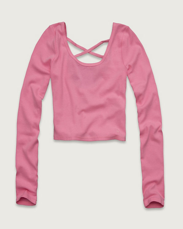 Womens Theresa Cropped Top