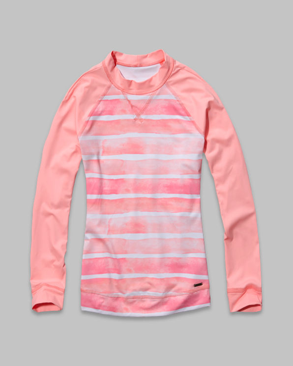 Striped Rash Guard Striped Rash Guard