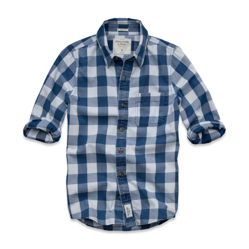 Mens Connery Pond Indigo Shirt