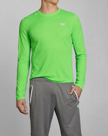 ANF A&F Active Base Layer Tee