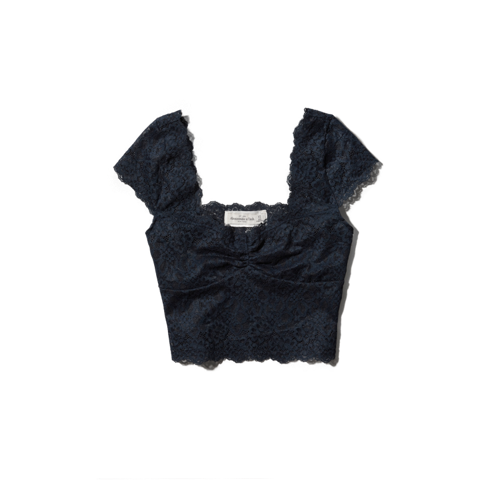Womens Rylie Cropped Top