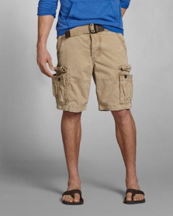 ANF A&F Cargo Shorts