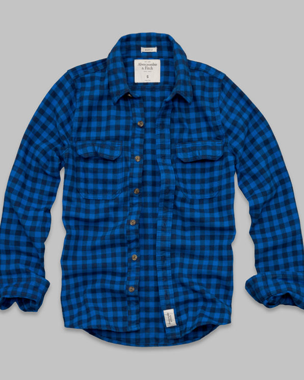 Railroad Notch Flannel Shirt Railroad Notch Flannel Shirt