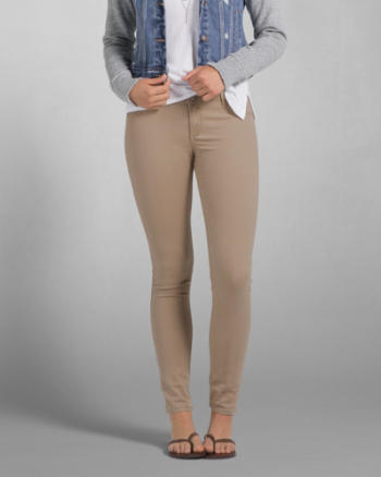 Womens Mid Rise Jeggings