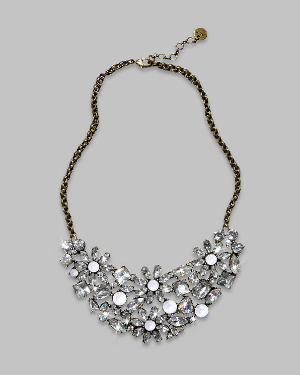 Womens Shine Statement Necklace