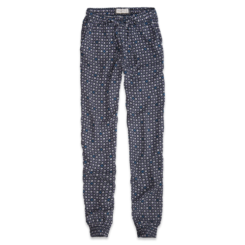 Womens Olivia Pattern Drapey Pants
