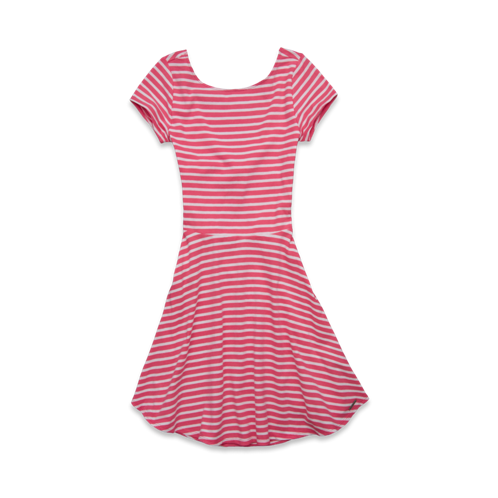Womens Macey Knit Skater Dress