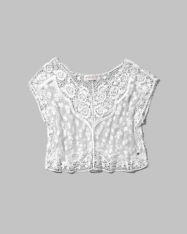 Womens Maria Cropped Top
