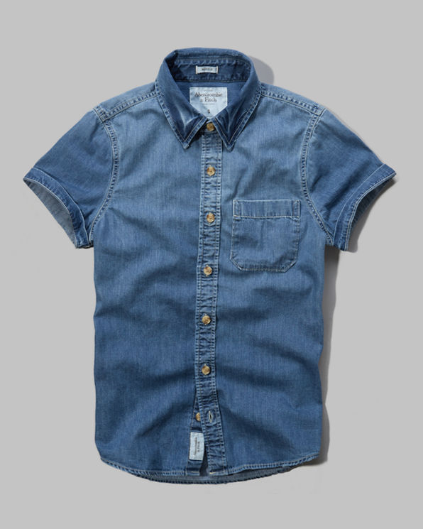 Mens Boreas Mountain Denim Shirt