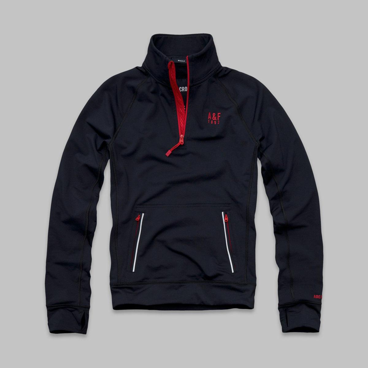 A&F Active Half-Zip Pullover