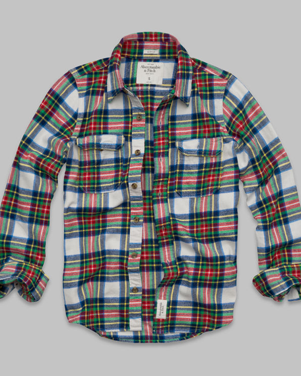 Lake Harris Flannel Shirt Lake Harris Flannel Shirt