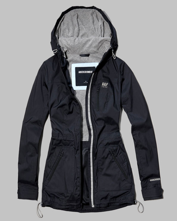 Womens A&F Active Water Resistant Parka
