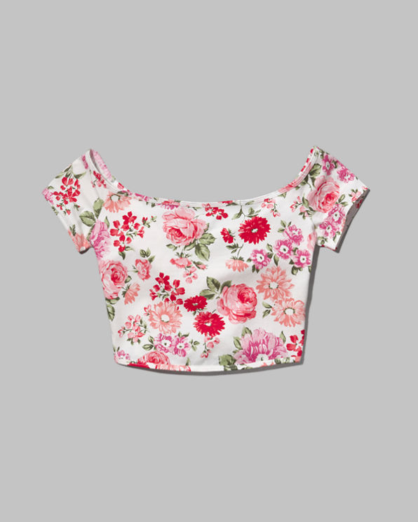 ANF Carter Cropped Top