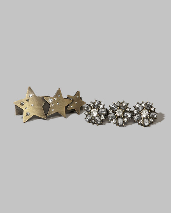 Shine Embellished Barrettes Shine Embellished Barrettes