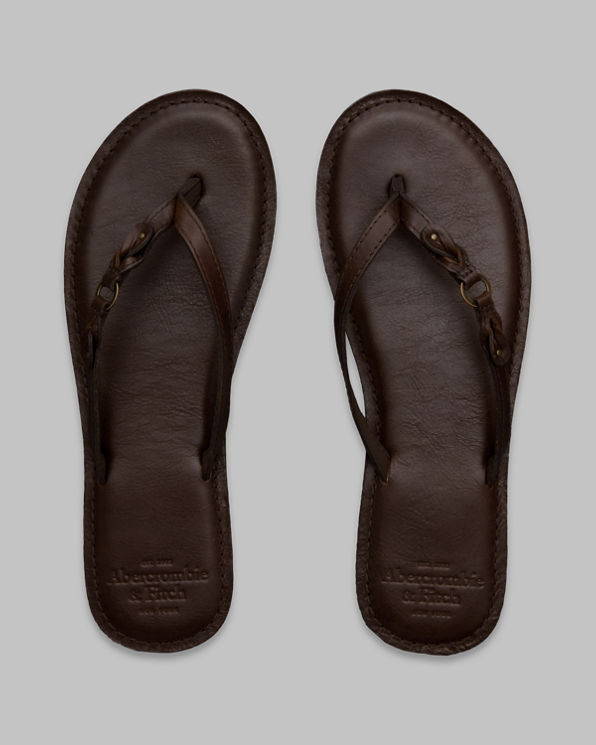 Genuine Leather Flip Flops Genuine Leather Flip Flops
