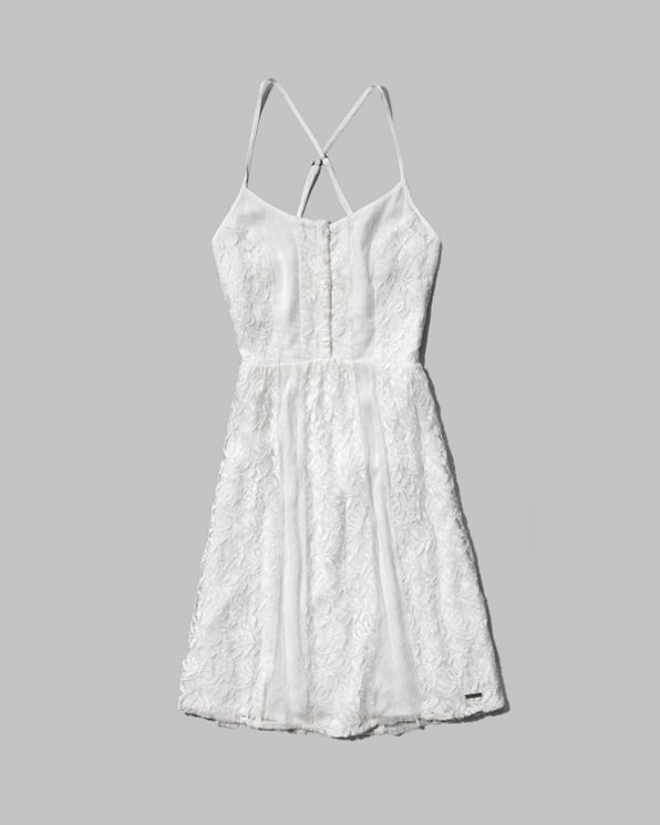 ANF Casey Lace Babydoll Dress