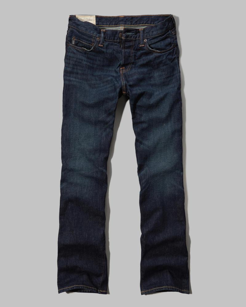 Mens Au0026F Boot Button Fly Jeans | Mens Sale | Abercrombie.co.uk