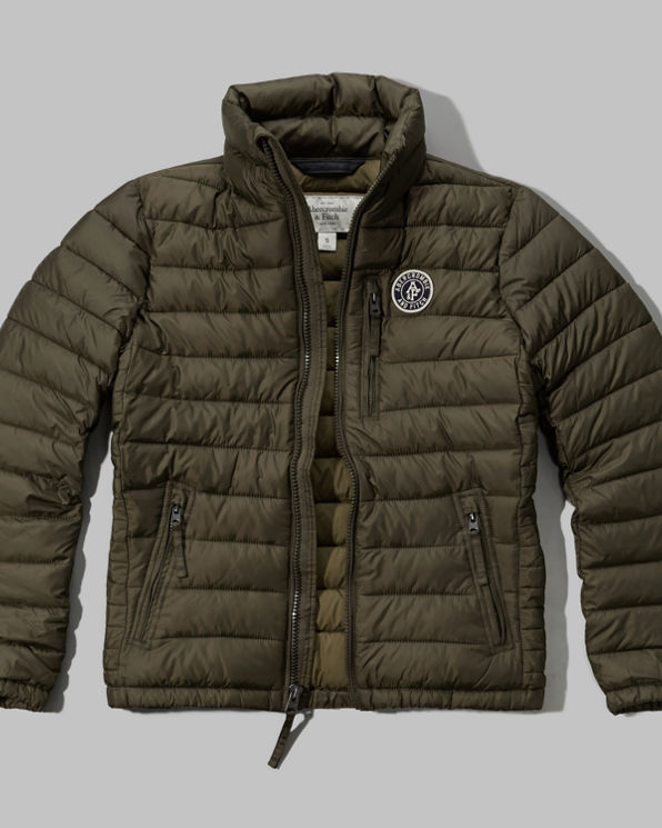 Mens Newcomb Lake Packable Puffer Jacket