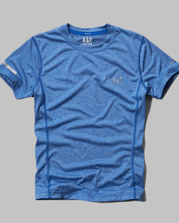 A&F Active Base Layer Tee A&F Active Base Layer Tee