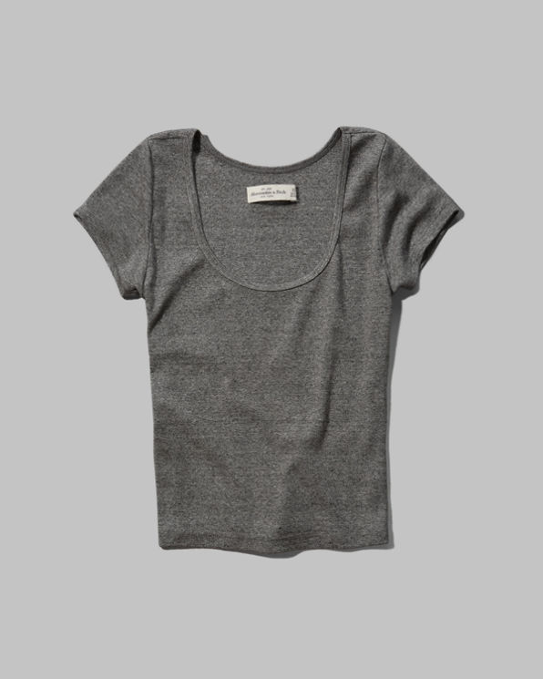 Womens Gillian Cropped Tee