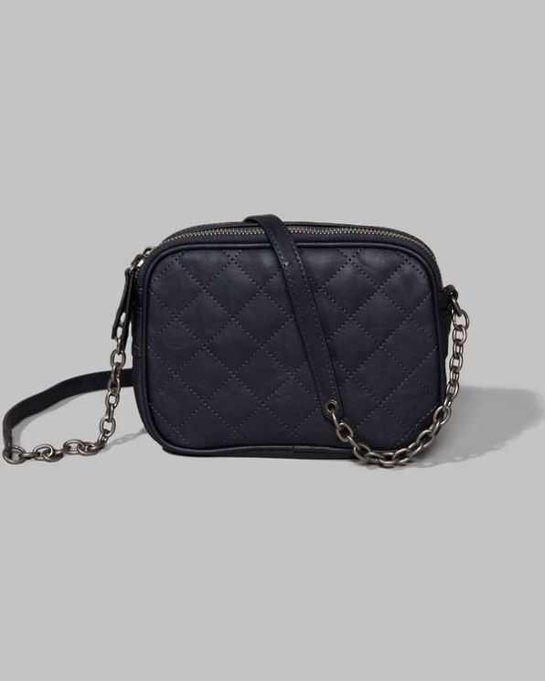 Womens Quilted Crossbody Bag