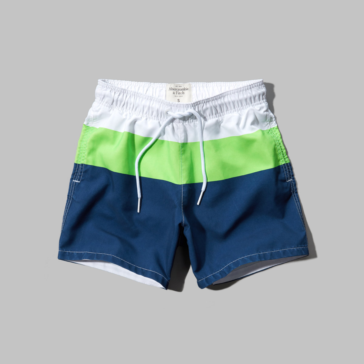 A&F Campus Fit Swim Shorts