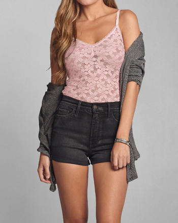 ANF Heather Lace Tank