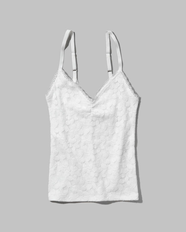 Womens Heather Lace Tank