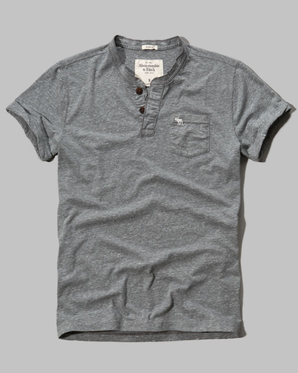 Mens Flagstaff Mountain Henley