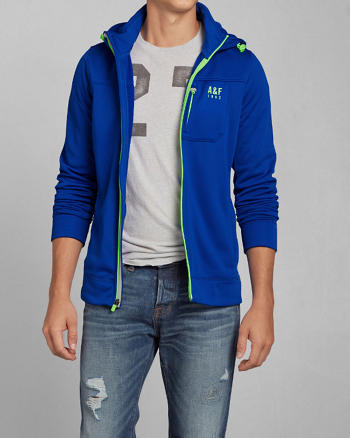 ANF A&F Active Full-Zip Hoodie