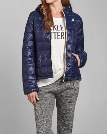 Womens K-Way with A&F Milly Thermo Plus Jacket