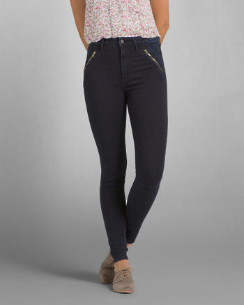 ANF A&F Sydney Natural Waist Jeggings