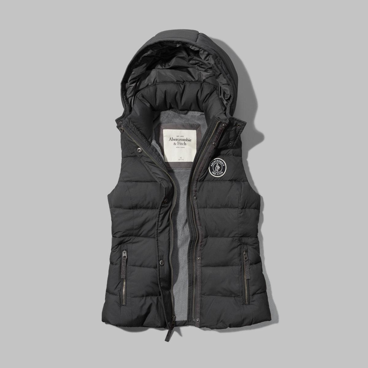 A&F Puffer Vest