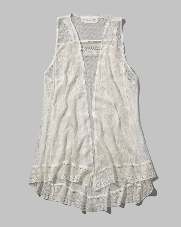ANF Madeline Lace Vest
