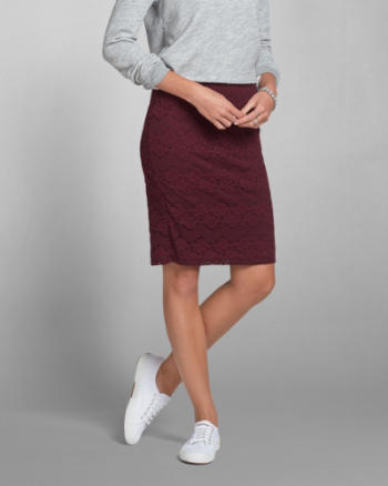 Womens Eden Midi Skirt