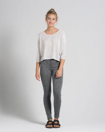 Womens A&F Sydney Natural Waist Jegging