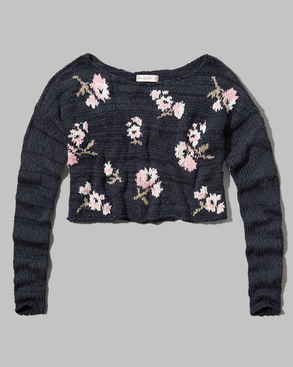 ANF Monica Cropped Sweater